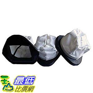 [106美國直購] Crucial Vacuum 3-Piece Dust Cup Filters for Shark Hand Vac Models