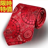 桑蠶絲領帶 男配件-精緻真絲綢雲錦手打領帶4色66ae5【巴黎精品】