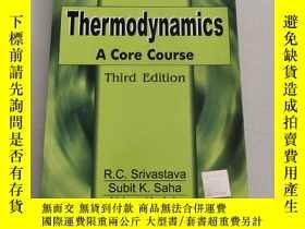 二手書博民逛書店Thermodynamics:罕見A Core Course熱力學:一個核心課程【第三版]原版 平裝 沒勾畫Y