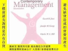 二手書博民逛書店Student罕見Study Guide To Accompany Contemporary Management
