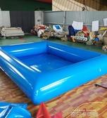 廠家直銷戶外大型充氣水池游泳池兒童成人手搖船碰碰船配套水池QM 依凡卡時尚