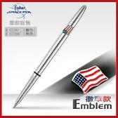 Fisher Space Pen Emblem徽章款#600-AF/#600B-AF【AH02034-35】99愛買小舖