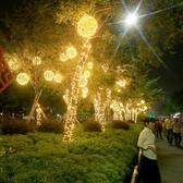LED小彩燈閃燈串燈滿天星七彩變色 全館免運