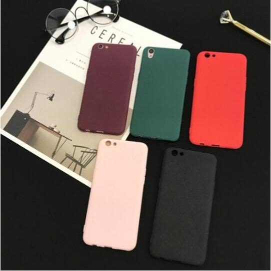 日韓 簡約 復古 OPPO 手機殼 r7 r7s r7 plus r9 r9s r9 plus r9sp 磨砂 純色 軟殼 矽膠套