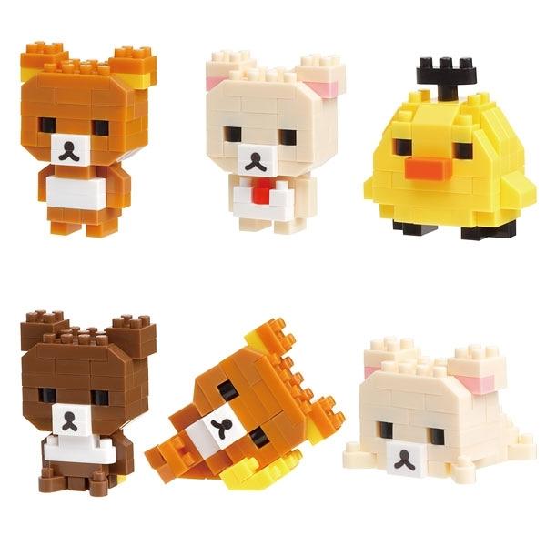 《Nano Block迷你積木》NBMC_17S MINI系列 拉拉熊(1套6入) / JOYBUS玩具百貨