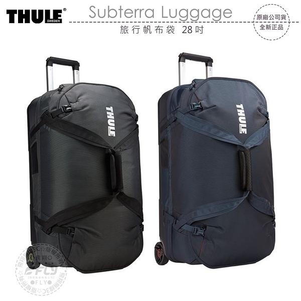 《飛翔無線3C》THULE Subterra Luggage 旅行帆布袋 28吋│公司貨│70cm 滑輪旅行箱 行李箱