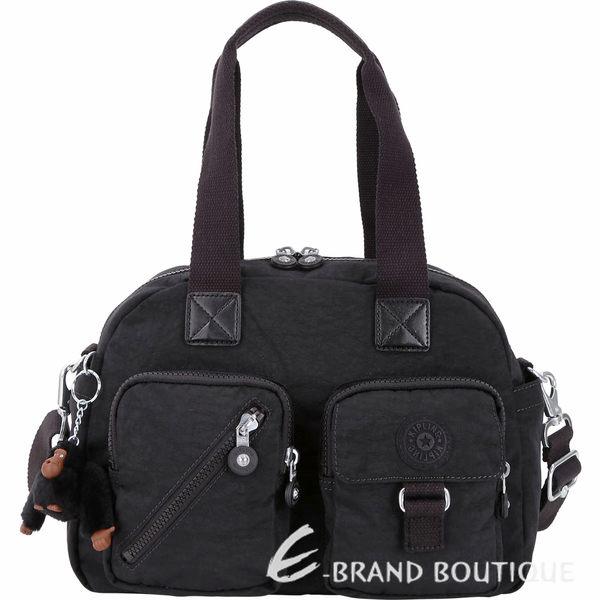 Kipling Defea K13636 經典款多層實用手提側背包(黑色) 1830211-01