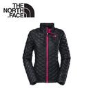 【The North Face 女 TB保暖外套 《黑/櫻桃粉》】C775/羽絨外套/輕量/防風外套