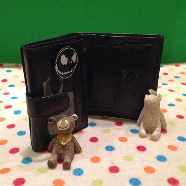 【發現。好貨】恐怖傑克萬聖節立體造型短夾 卡通傑克皮夾造錢包 零錢包 證件包