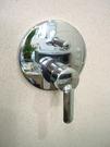 【麗室衛浴】義大利單槍兩路埋璧式開關 門市樣品