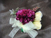 繡球花手工胸花  禮儀名條 婚禮小物 婚俗用品 紅包袋【皇家結婚百貨】