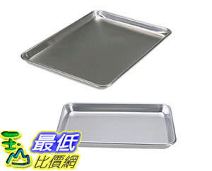 [105美國直購] 烤盤 Nordic Ware Natural Aluminum Commercial Bakers Half Sheet and Bakers Quarter Sheet 43145AMZ