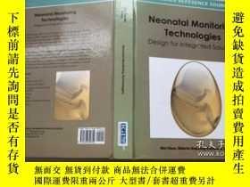 二手書博民逛書店Neonatal罕見Monitoring Technologie