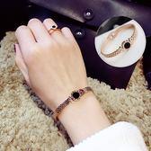 韓國ulzzang小清新手鐲女韓版夸張手?簡約手鐲學生手環 一次元