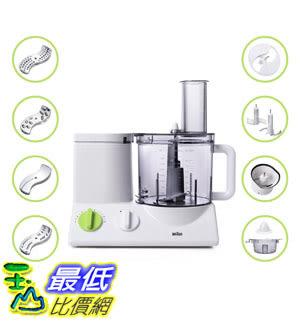 [美國直購] BRAUN FP3020 12-Cup食物處理器 Food Processor Ultra Quiet Powerful plus Bonus Mini Processing Bowl
