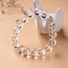 萬晶之母 14mm珠款 白水晶手環