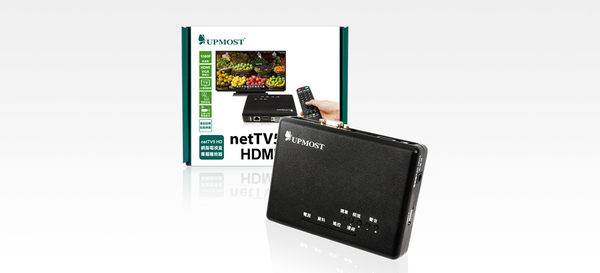 登昌恆 UPMOST netTV5 on TV HDMI播放盒【迪特軍】