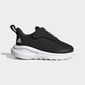 Adidas Fortarun Ac I [FY3061] 小童鞋 運動 休閒 舒適 保護 魔鬼氈 愛迪達 黑 白