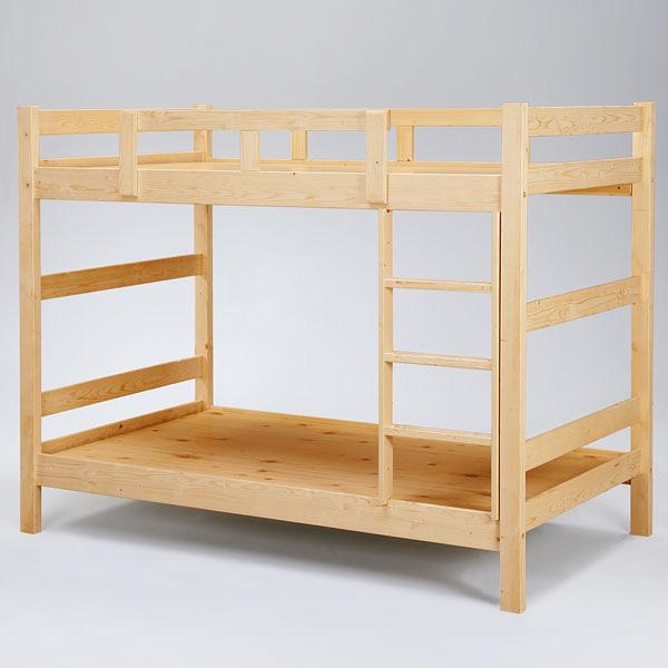 YoStyle 米克3.5尺雙層床-原木色 單人床 兒童上下舖 床組 宿舍 小孩房 專人配送