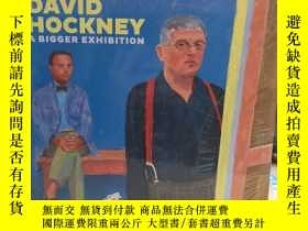 二手書博民逛書店David罕見Hockney: A Bigger Exhibition 大衛.霍克尼畫冊Y70136 大偉霍克