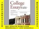 二手書博民逛書店College罕見Essays That Made A DifferenceY256260 Princeton