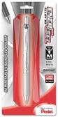 又敗家@美版Pentel飛龍ENERGEL鋁合金屬原子筆ALLOY銀色0.7mm原子筆BL407BP極速鋼珠筆快乾圓珠筆