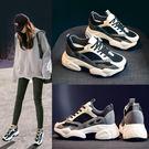 老爹鞋女新款百搭內增高厚底休閒運動鞋