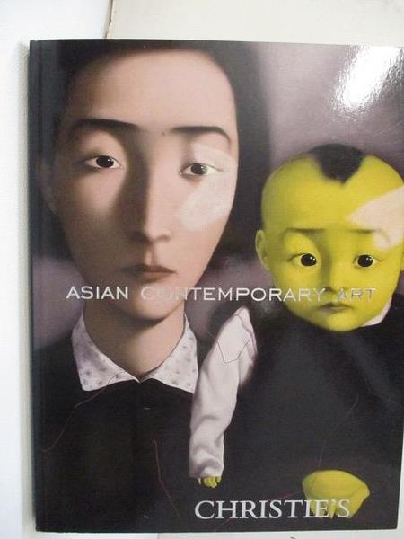 【書寶二手書T6/收藏_J3Q】Christie s_Asian Contemporary Art_2008/11/30