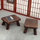 小木凳 燒桐木矮凳實木小板凳家用客廳木制兒童結實小木凳木頭凳子換鞋凳 晶彩 99免運