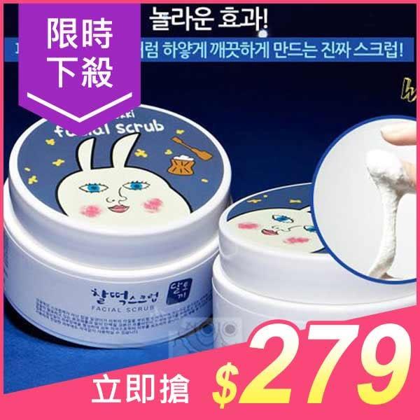 韓國DAL TOKKI 兔兔臉部淨白去角質霜(90ml)【小三美日】原價$399