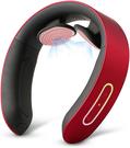 NIPLUX【日本代購】頸部按摩器 頸部放鬆 力量調節USB充電 - 紅色
