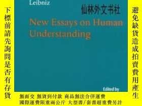 二手書博民逛書店【罕見】Leibniz: New Essays On Human Understanding (cambridge
