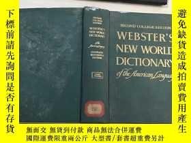 二手書博民逛書店WEBSTER S罕見NEW WORLD DICTIONARY韋