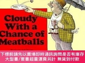 二手書博民逛書店Cloudy罕見With a Chance of Meatballs 天降美食Y454646 Judi Bar