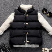 兒童背心 兒童馬甲春秋薄款寶寶背心羽絨棉上衣男女童冬季立領外穿