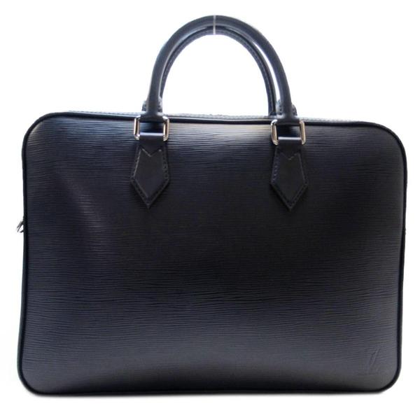 LOUIS VUITTON LV 路易威登 藍色EPI水波紋手提斜背公事包 Dandy Briefcase BRAND OFF