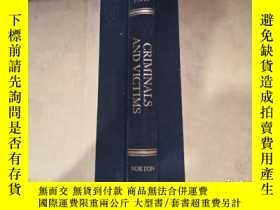 二手書博民逛書店griminals罕見and viotims ;a trial