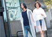 雨衣-sck時尚旅行透明男女款便攜成人徒步雨衣外套潮牌長款全身雨披 東川崎町
