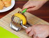 切檸檬切片器水果神器廚房用品家用304不銹鋼創意土豆切割器工具 完美情人