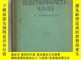 二手書博民逛書店theory罕見of electromagnetic waves
