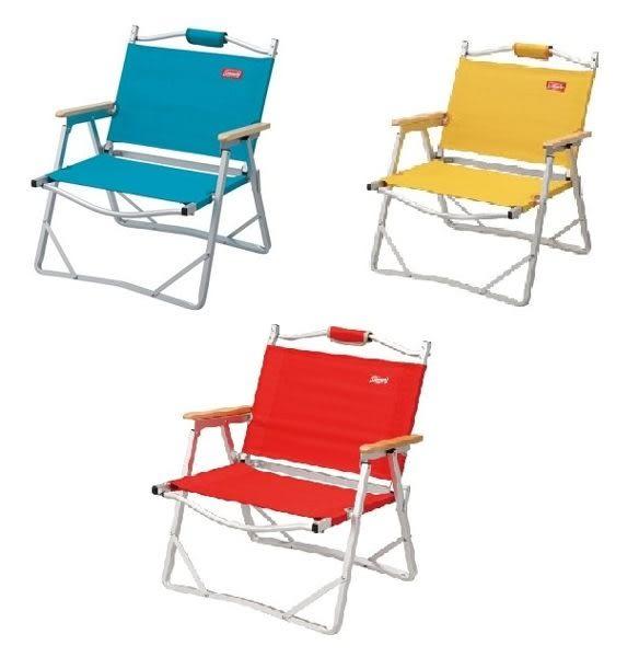【早點名露營生活館】輕薄摺疊椅-藍/紅/黃/藍紅條紋