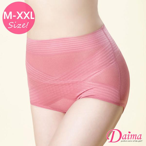 健康新主義(M~XXL)交叉X型微塑動機能蠶絲翹臀透氣褲(豆沙)【Daima黛瑪】