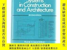 二手書博民逛書店Mechanical罕見And Electrical Systems In Construction And Ar