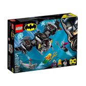 【LEGO 樂高積木】SUPER HEROES 超級英雄系列-蝙蝠俠潛艇(6) LT-76116