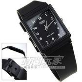 MQ-27-1B 指針錶 MQ-27-1B 黑色橡膠錶帶 方型 35mm 時間玩家 CASIO 卡西歐 男錶 中性錶 女錶 超薄方形