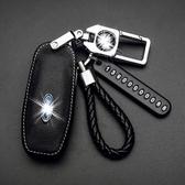 車鑰匙包 新福特福睿斯福克斯鑰匙套蒙迪歐翼虎翼博銳界領界汽車殼包扣適用 - 夢藝家