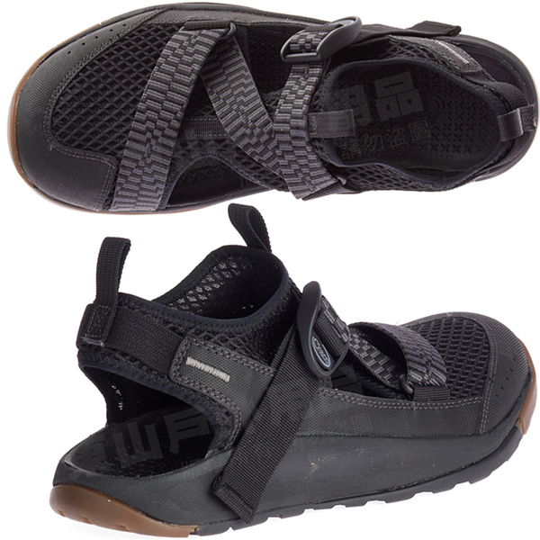 Chaco ODM01_H405黑 男越野水陸鞋 Odyssey戶外鞋 美國佳扣涼鞋/水陸兩用鞋/沙灘鞋/運動涼鞋