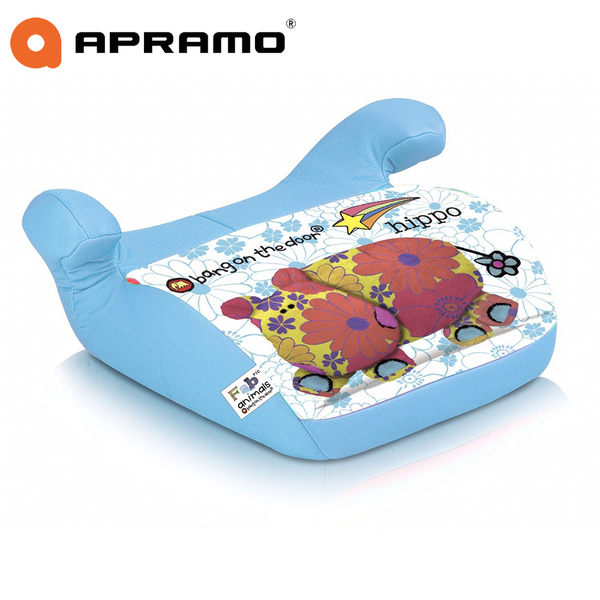 Apramo ARTEMIS 兒童增 高座墊-河馬 加贈 安全帶固定器