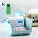 [超豐國際]可疊加桌面收納盒塑料辦公雜物置物架化妝品首飾收納儲物盒