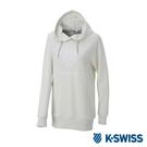 K-SWISS Hooded Sweat Shirts休閒連帽上衣-女-白
